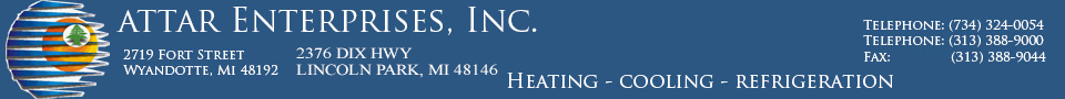 Attar Enterprises - HVAC, Heating, Cooling, Furnace, Air Conditioning and Much More